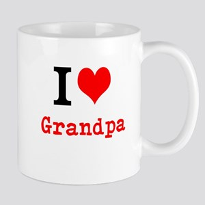 I Love Grandpa Mugs